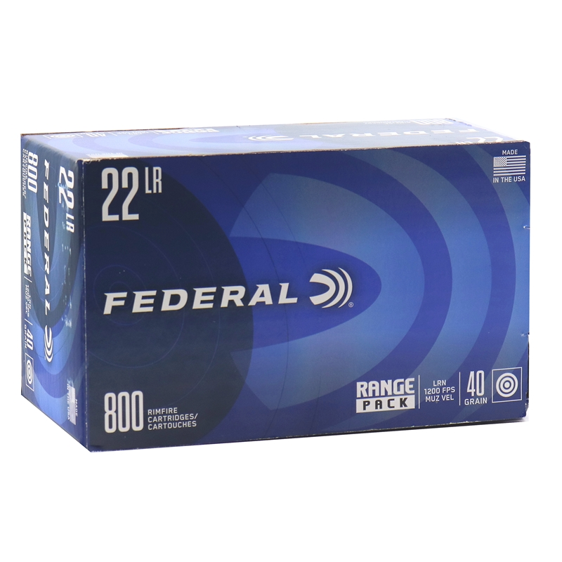 ** SPRING SUPER SALE ** Federal Range Pack 22LR 40 Grain 800 Round Value Pack   ** IN STOCK NOW  **